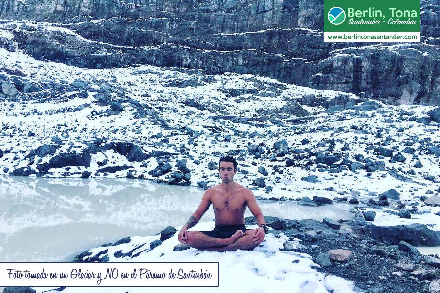 Daniel Silva en el Glaciar | Subiendo al Páramo de Santurbán con el #HombreDeHielo Colombiano